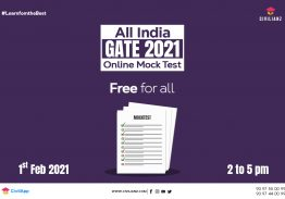All India GATE 2021 Online Mock Test