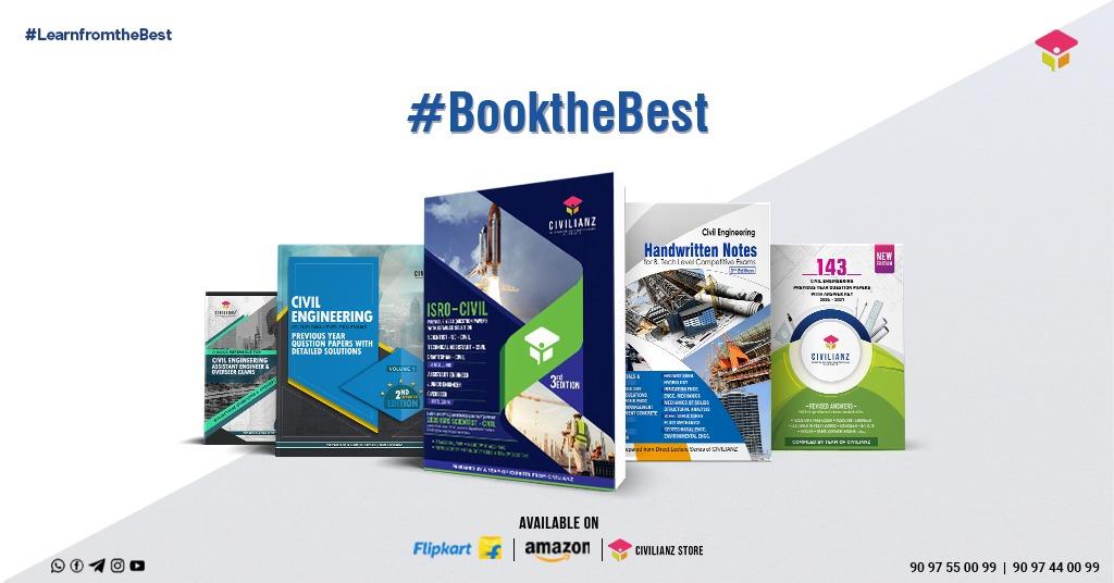 Civil Engineeering competative exam books