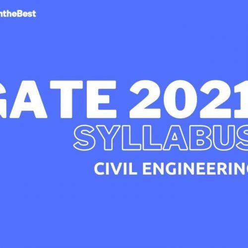 GATE 2021 CIVIL ENGINEERING