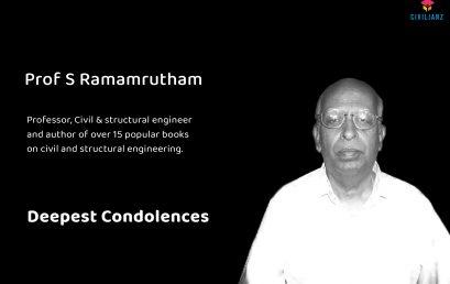 Renowned Prof. S. Ramamrutham….Deepest Condolences
