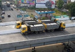 Load test commences on Palarivattom Flyover
