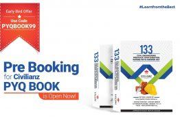 Prebooking started for Civilianz PYQ Book !