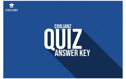 QUIZ 427 ANSWER KEY