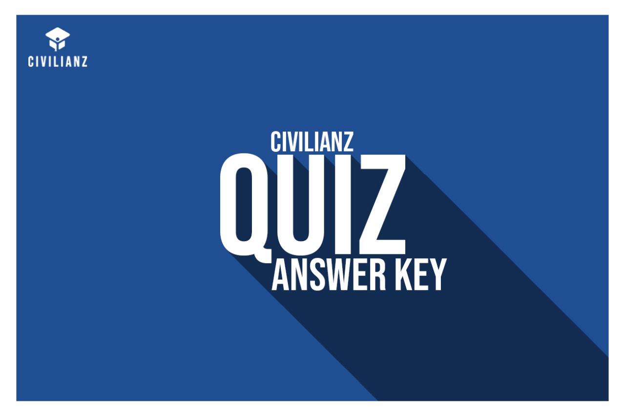QUIZ 424 ANSWER KEY