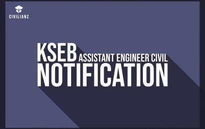 Kerala PSC – KSEB AE Civil Notification 2021