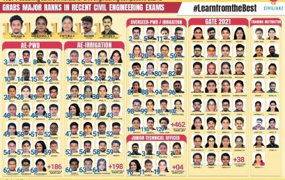 Historic Results in Assistant Engineer-Overseer Kerala PSC Exams