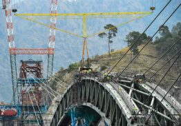 Indian Railways completes arch closure of Chenab Bridge, World's Highest Railway Bridge