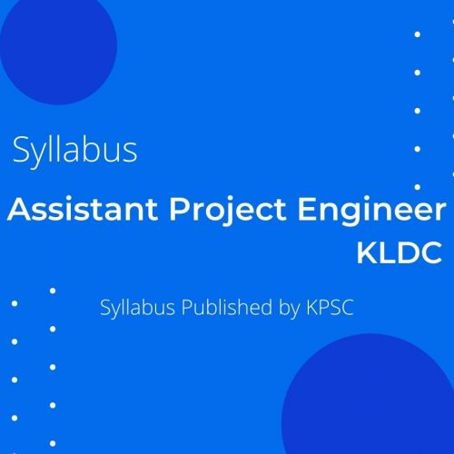 KLDC ASSISTANT PROJECT ENGINEER SYLLABUS
