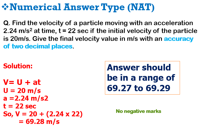Gate NAT type questions