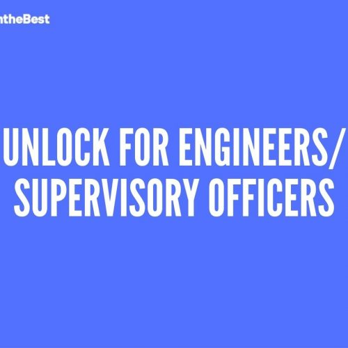 Unlock for Engineers/Supervisory Officers