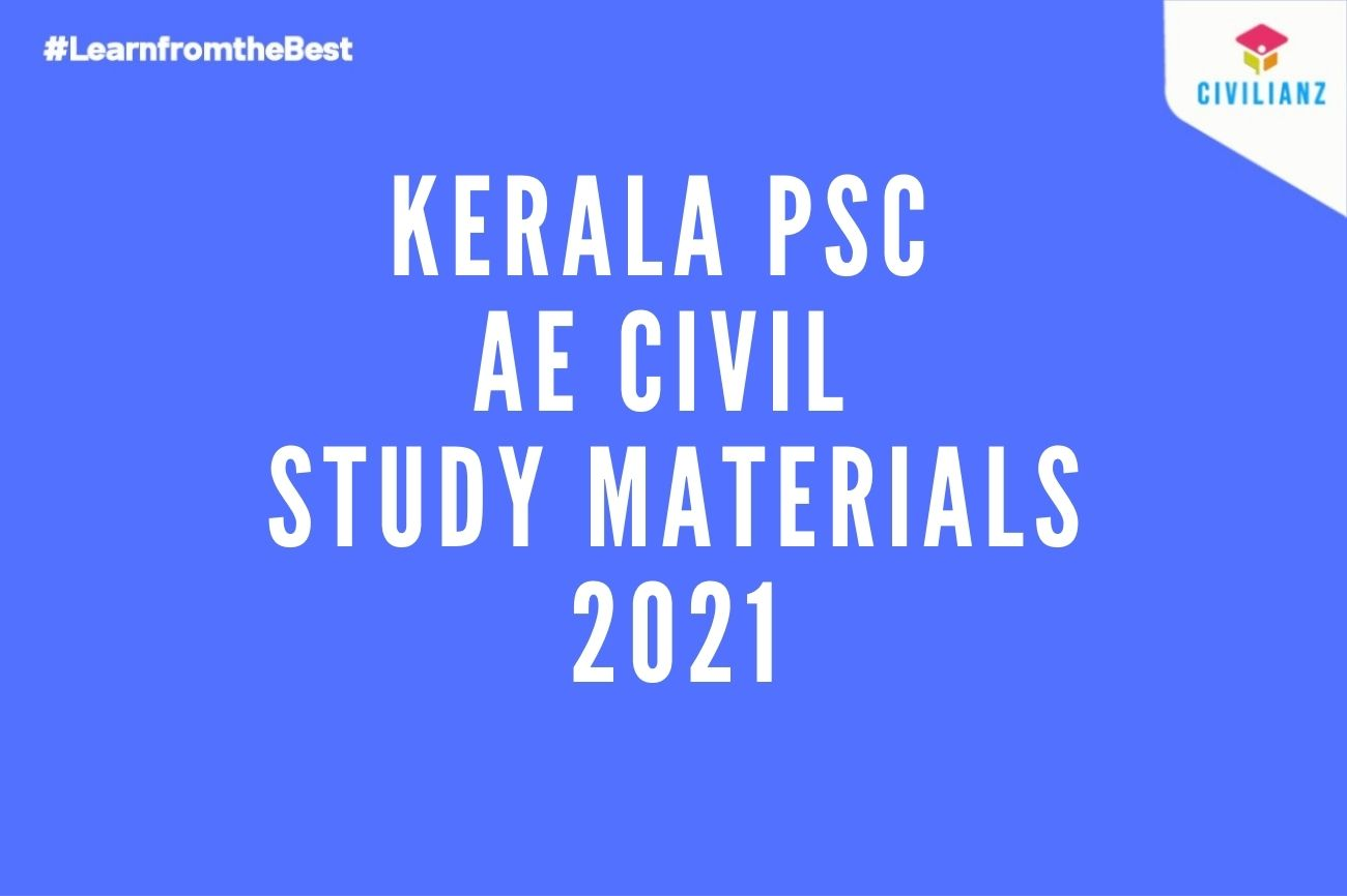 Best Study Materials for Kerala PSC Assistant Engineer AE Civil 2021