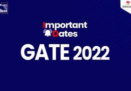 Graduate Aptitude Test in Engineering GATE 2022 Online Registration