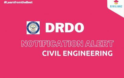 DRDO JOB NOTIFICATION 2021!!!