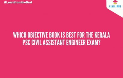 Which objective book is best for the Kerala PSC Civil Assistant Engineer exam?