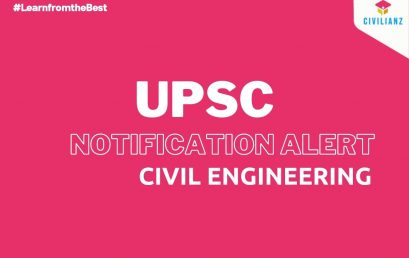 UPSC 2022 ESE CIVIL ENGINEERING NOTIFICATION