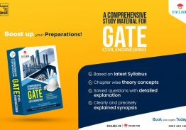 BEST STUDY MATERIAL FOR GATE CIVIL ENGINEERING