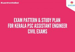 Exam Pattern & Study Plan for Kerala PSC Assistant Engineer Exams